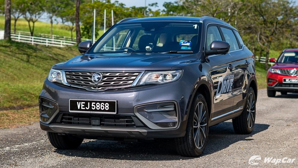 The safety performance of Proton x70