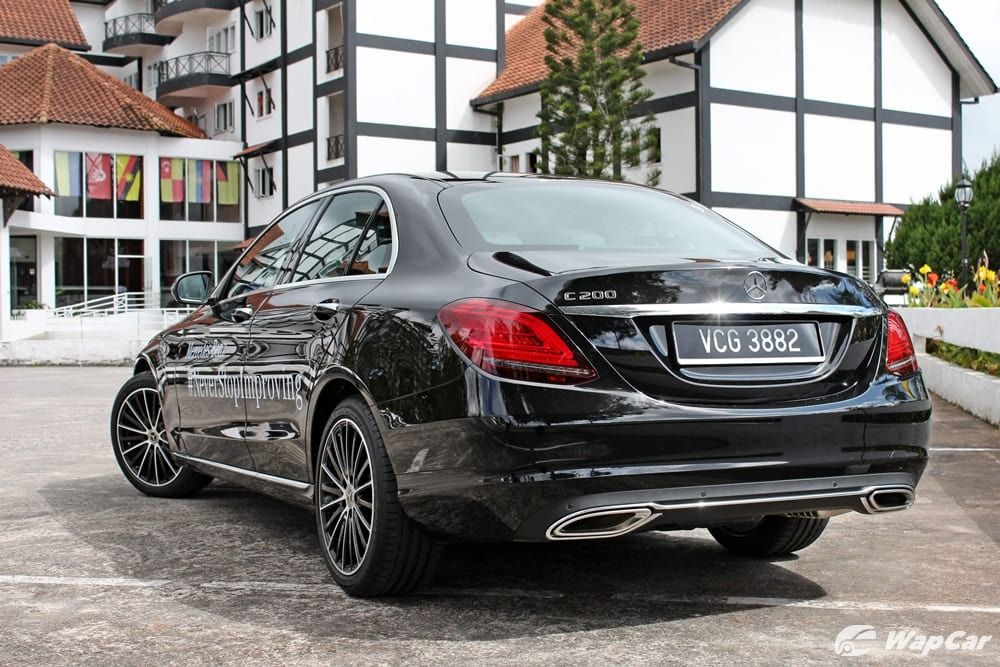Mercedes-Benz C200 facelift W205 Malaysia