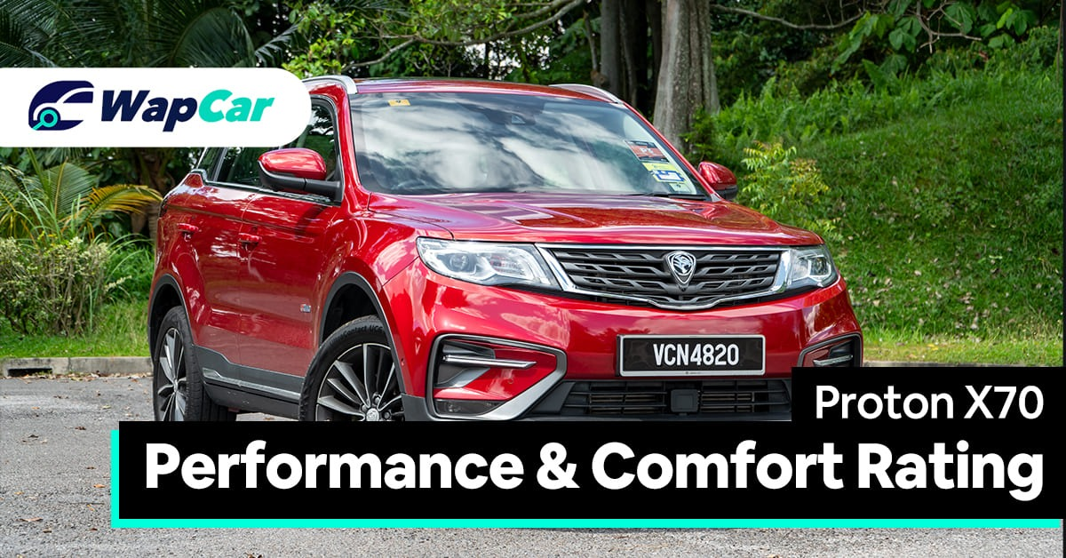2020 Proton X70 Performance and Comfort
