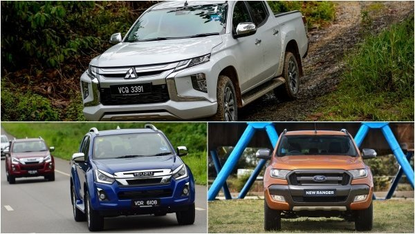 Top-3 best value for money pick-up trucks in Malaysia