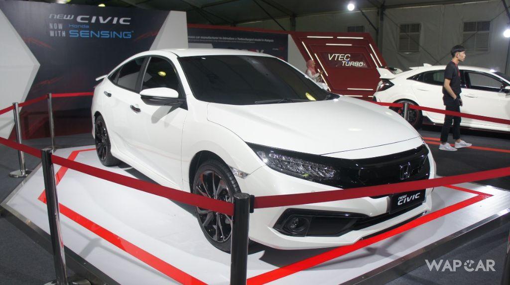 2020 Honda Civic front