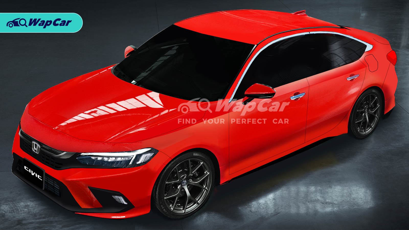 5 Honda Civic 5th gen rendered, looks like the Accord?  Wapcar