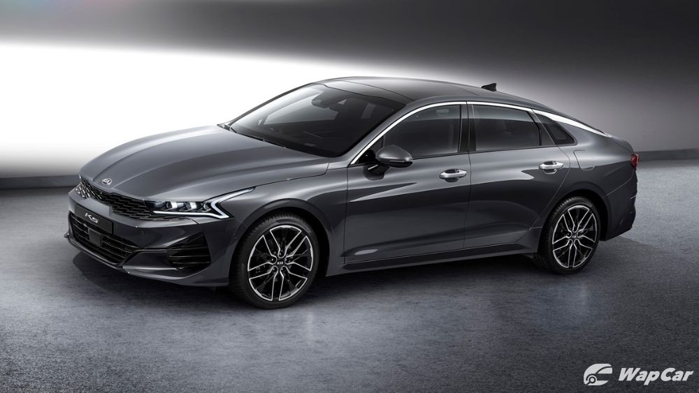 All-new 2020 Kia Optima front three quarter
