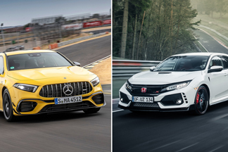 Mercedes-AMG A45 S is slower than FK8 Honda Civic Type-R, despite AWD – Why?