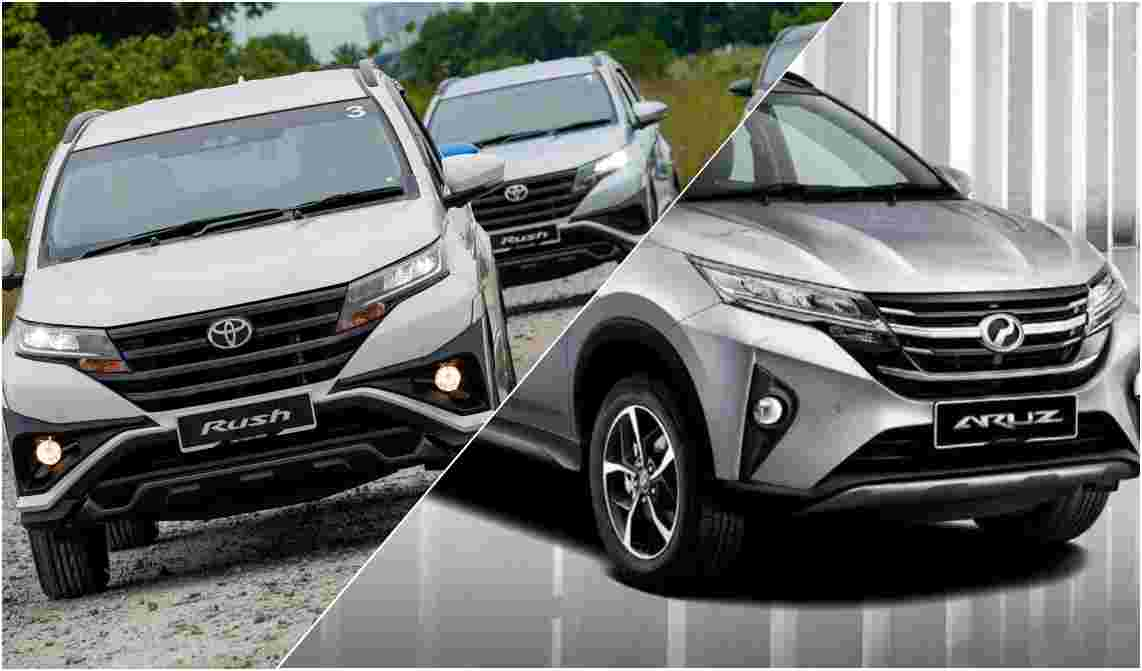 Perodua Aruz vs Toyota Rush, the choice is obvious