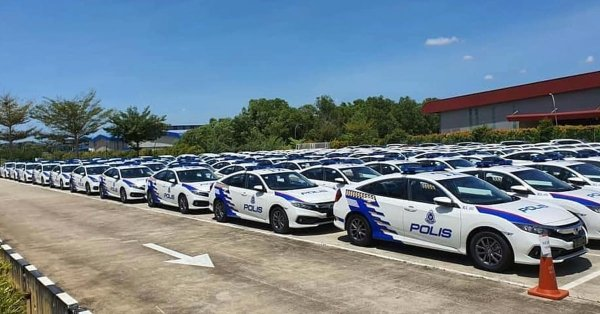 Watch out, PDRM's Honda Civic FC gets 4K DVRs