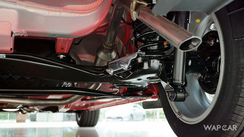 2018 Perodua Myvi suspension