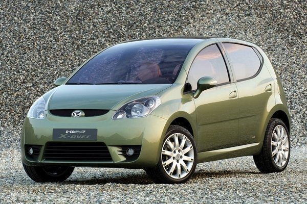 The Daihatsu D-Compact X-over is the Perodua Myvi Style that we wish we had