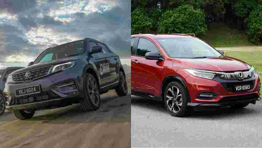 Proton X70 vs Honda HR-V; why the smaller SUV is still more practical
