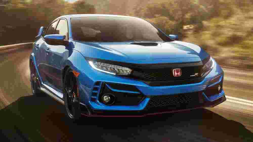 Honda presents new 2020 Honda Civic Type R facelift at the Tokyo Auto Salon