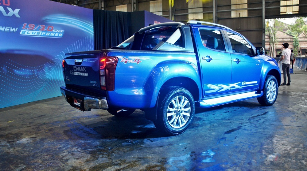 New Isuzu D-Max 2019 launched in Malaysia, new 150 PS 1.9L ...