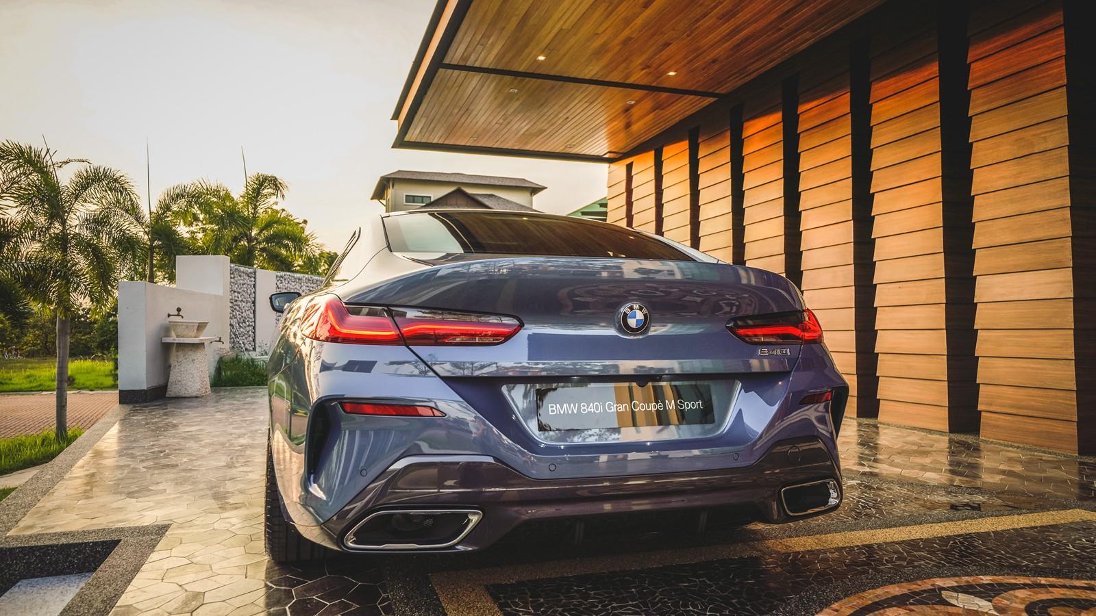 2020 BMW 8 Series 840i Gran Coupé M Sport Exterior 006