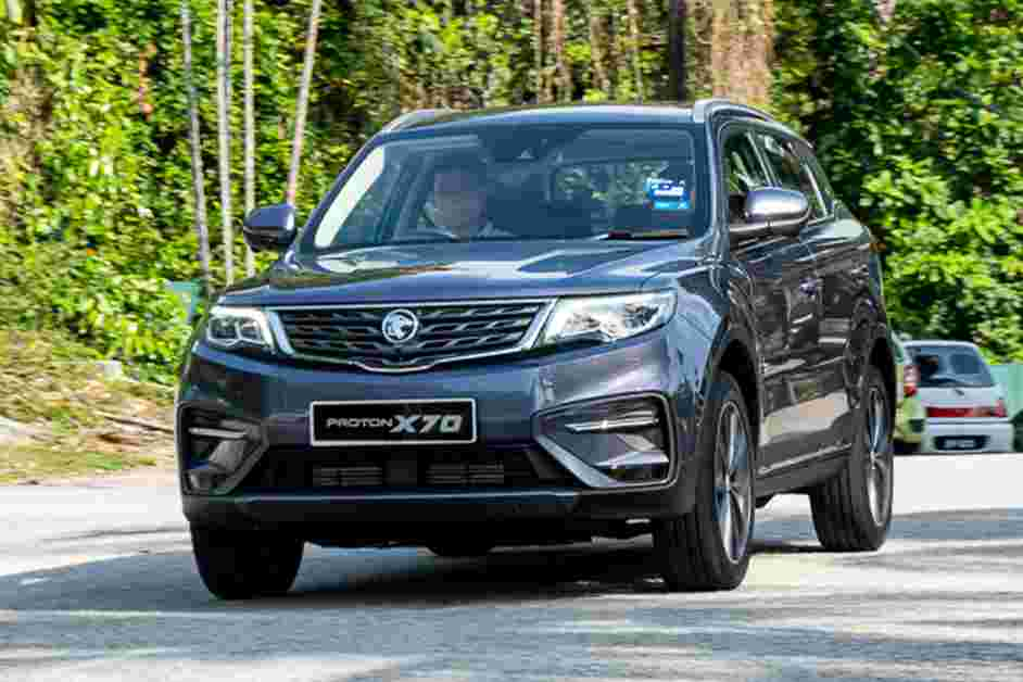2020 Proton X70 CKD 7-speed wet DCT is tested in Malaysia, lifespan of 350k km