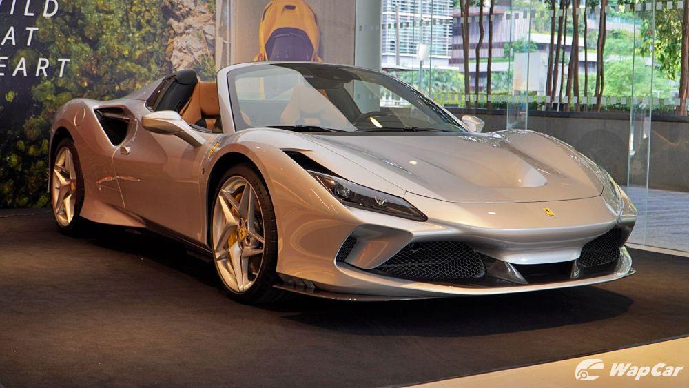 2020 Ferrari F8 Spider  Exterior 003