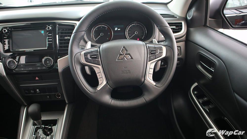 2019 Mitsubishi Triton VGT Adventure X Interior 005