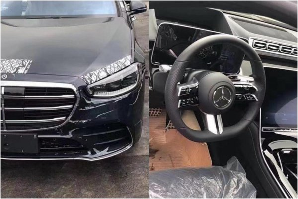 Spied: First clear look at the all-new (W223) 2021 Mercedes-Benz S-Class with minimal disguise