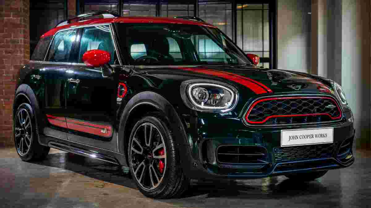 Unleash the beast in the form of the 2019 MINI John Cooper Works Countryman