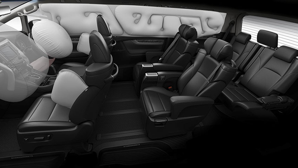 2020 Toyota Alphard 3.5 Interior 003