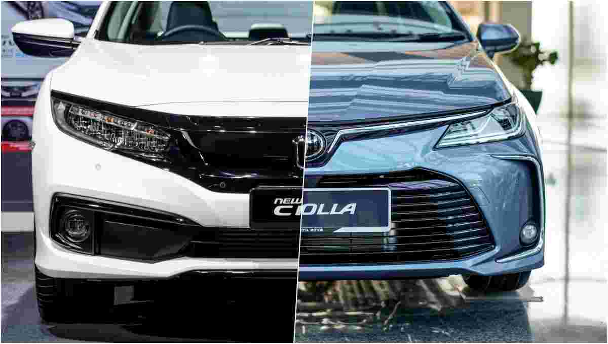 New 2020 Honda Civic (FC) vs Toyota Corolla Altis – Specs comparison