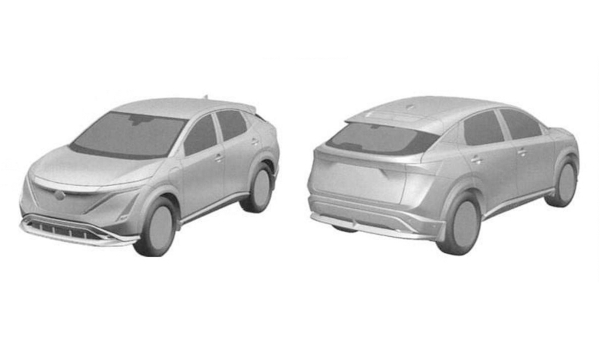 After X-Trail, a leaked 2021 Nissan Ariya patent surfaces - Murano replacement?