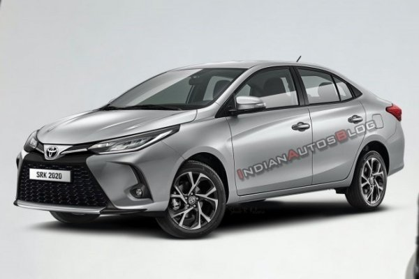 Toyota Vios facelift rendered, do you like the Lexus-esque grille?
