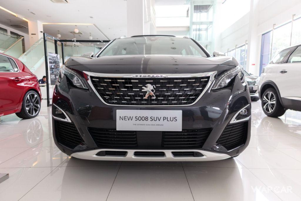 2019 Peugeot 5008 THP Plus Allure Exterior 002