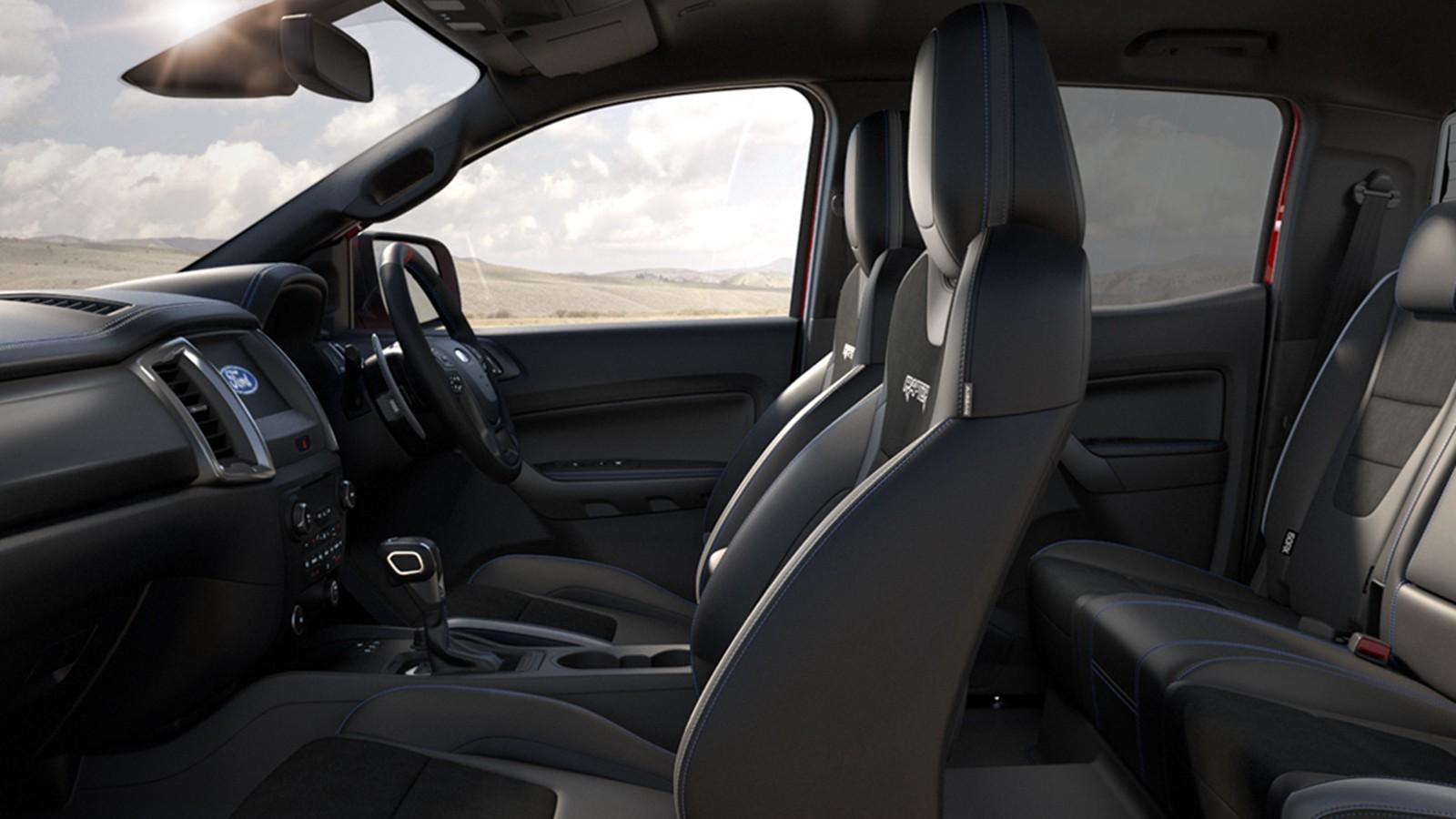 2020 Ford Ranger Raptor 2.0 Bi-Turbo Interior 002