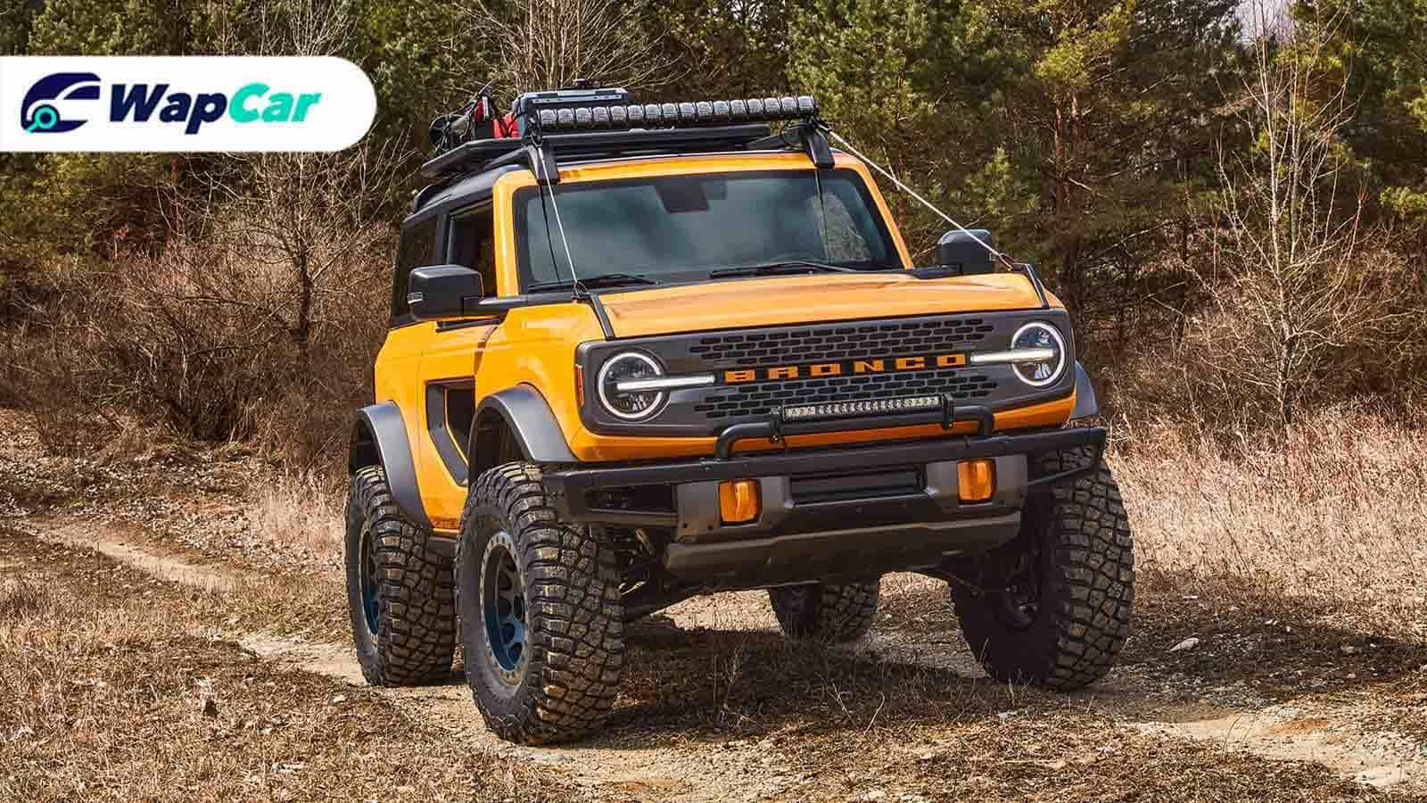 2021 Ford Bronco looks set to wrangle the competition | Wapcar