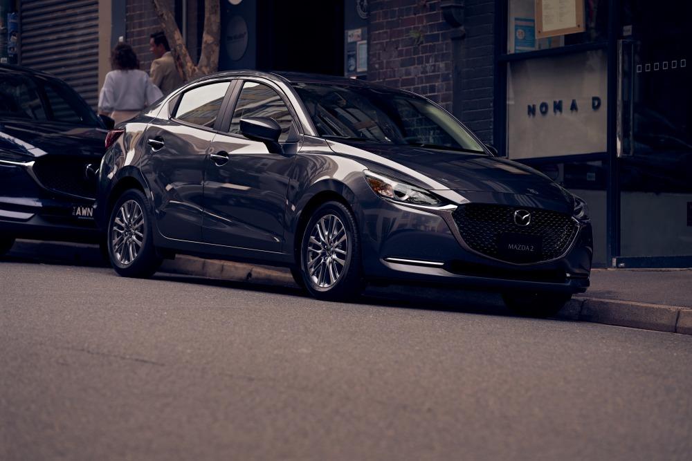 2020 Mazda 2 sedan