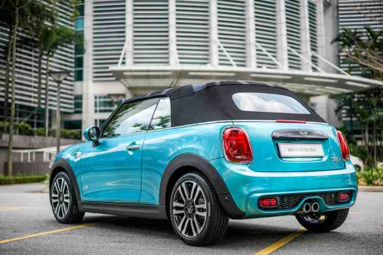 MINI Cooper S Convertible: Only 20 units, from RM 279,888