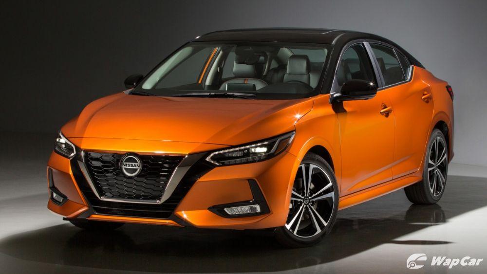 2020 Nissan Sentra front