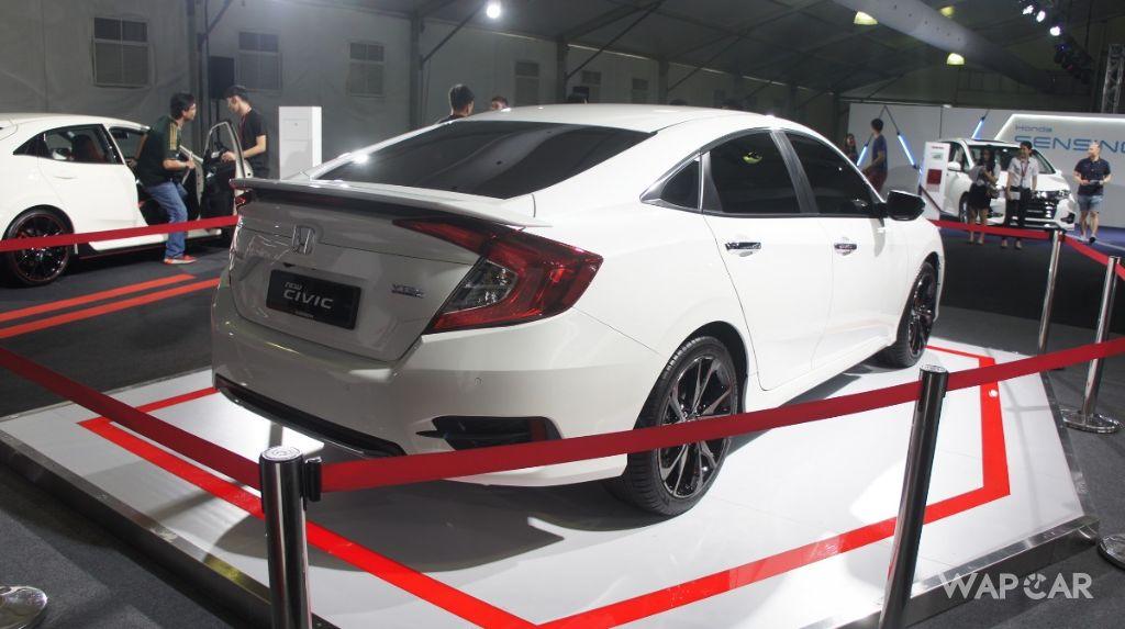 2020 Honda Civic rear