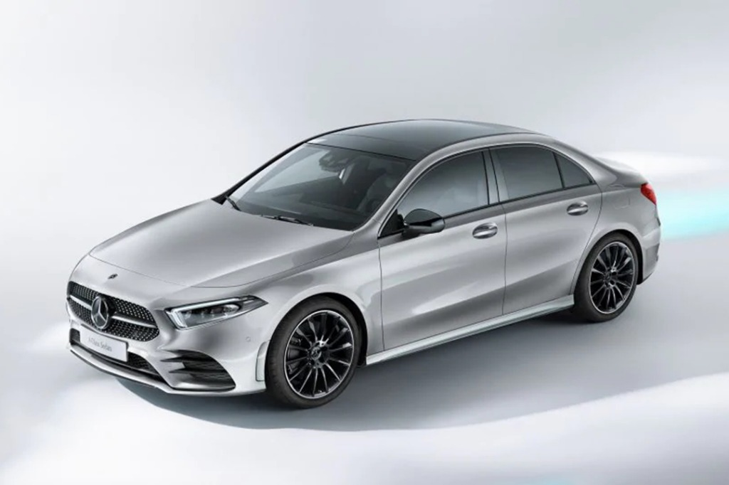 2019 Mercedes-Benz A200 Sedan Progressive Line Exterior 002