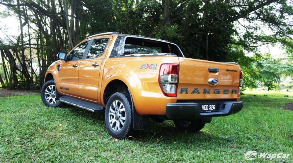 2019 Ford Ranger Wildtrak rear