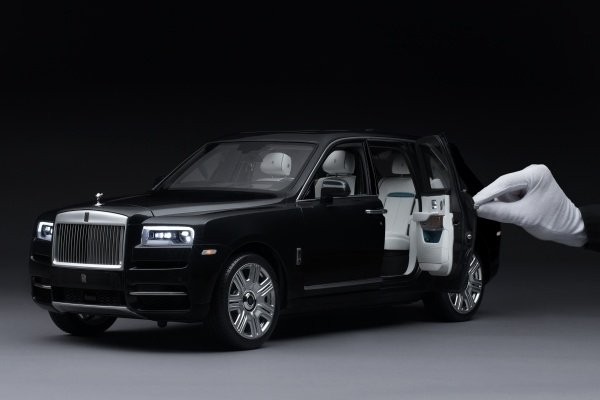 This Rolls-Royce Cullinan model is the most expensive toy car in the world