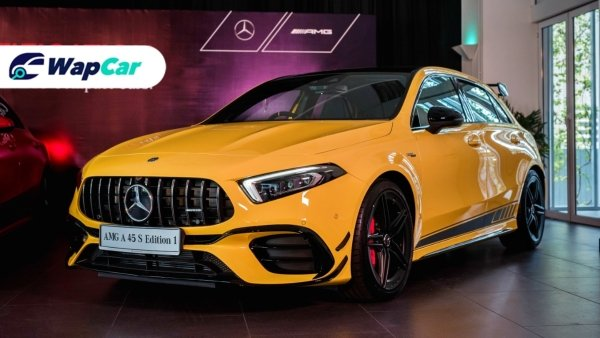 Mercedes-AMG A45 S dilancarkan di Malaysia - RM 459,888, pencabar BMW M2?