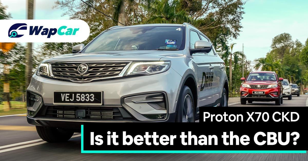2020 Proton X70 CKD Review
