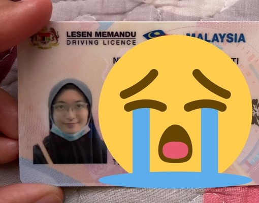 This is how MCO-era driving licenses look like!