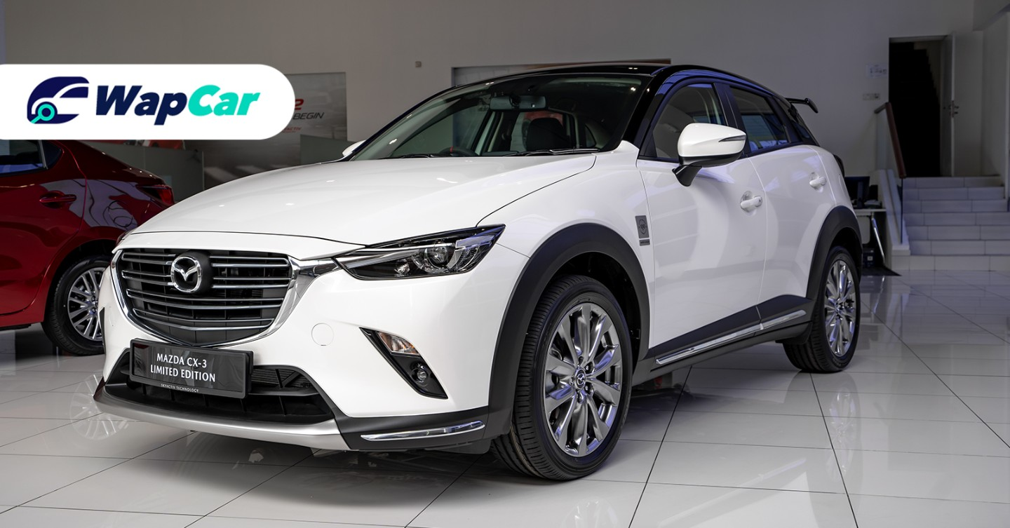 2020 Mazda CX-3 Limited Edition is RM 14k more expensive ...