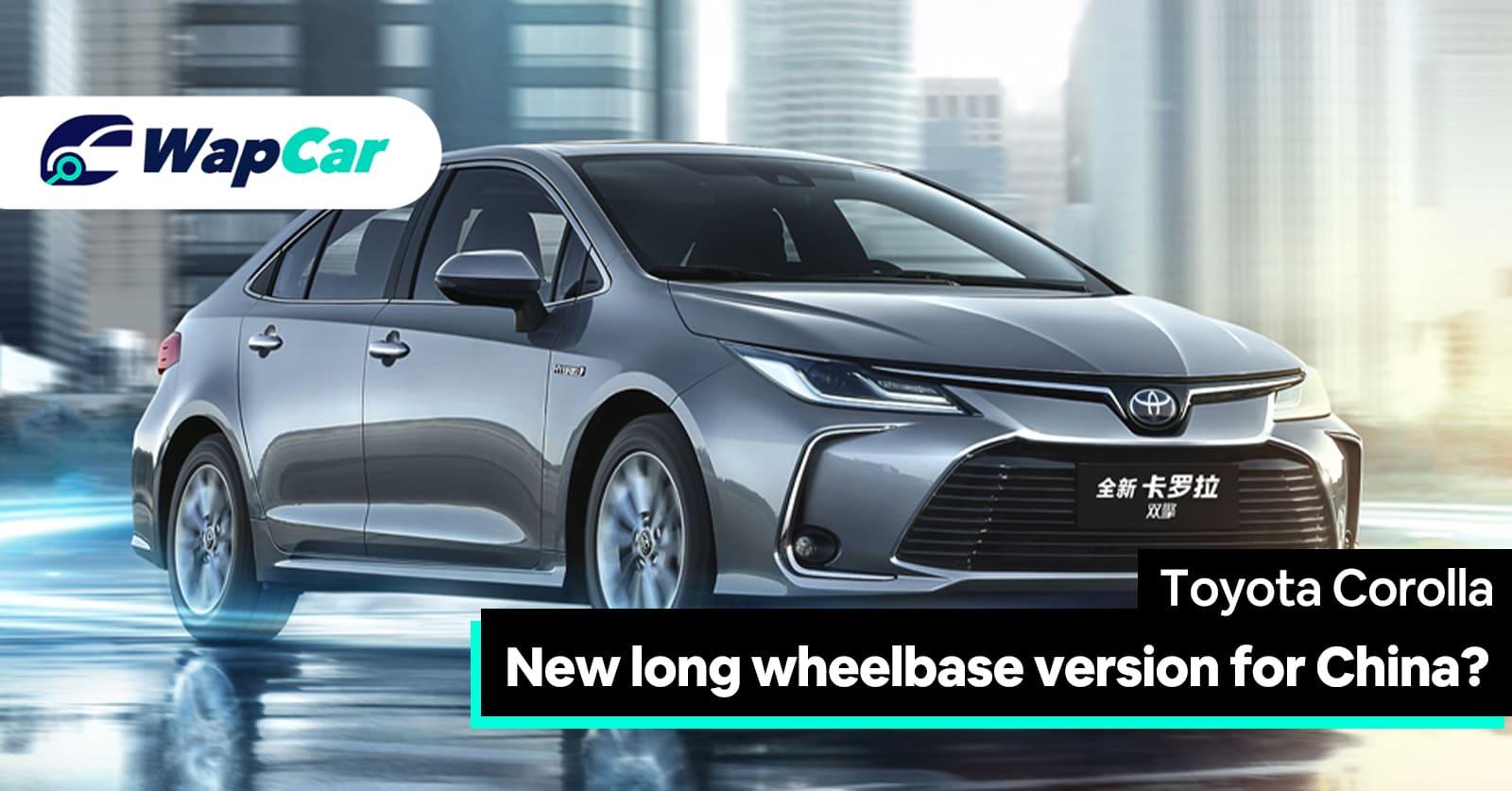 2020 Toyota Corolla LWB Long Wheelbase Exterior