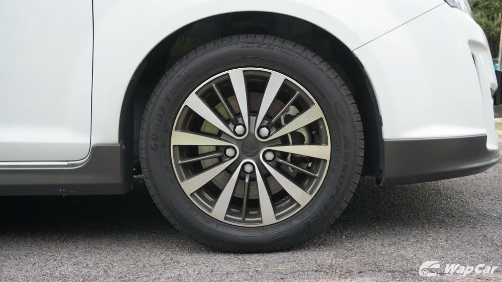 2019 Proton Exora front wheel