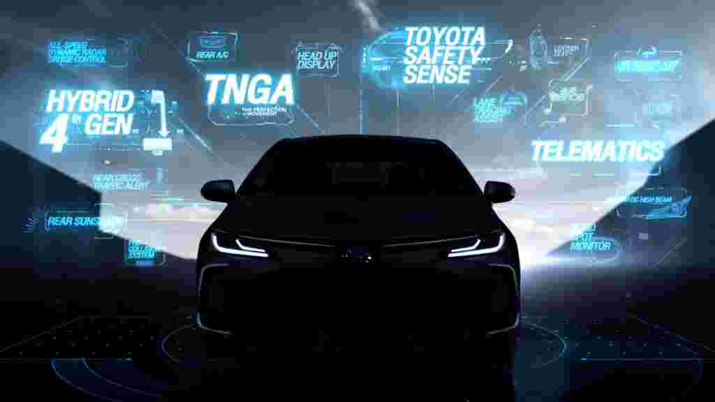 All-New Toyota Corolla Altis Teased – 13 September ASEAN Debut
