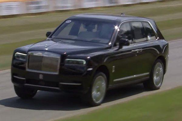 Watch: Rolls Royce Cullinan destroys the track