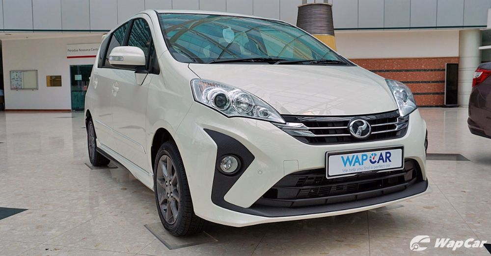 2019 Perodua Alza front view