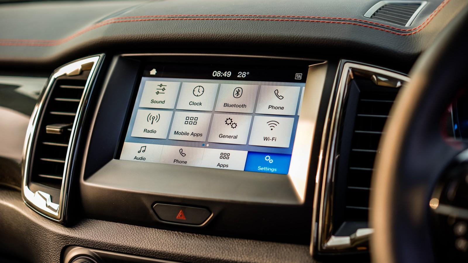 2020 Ford Ranger FX4 Interior 003