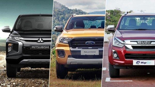 Tiga trak pikap paling berbaloi di Malaysia! Mana satu pilihan anda?