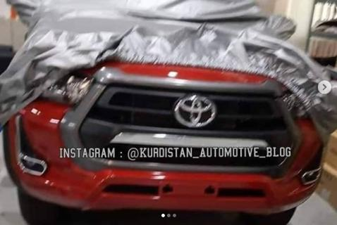 Here's the new 2020 Toyota Hilux before you're supposed to see it
