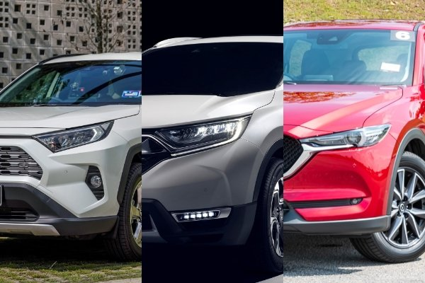 2020 Toyota RAV4 vs Honda CR-V vs Mazda CX-5 – Which one should you buy?
