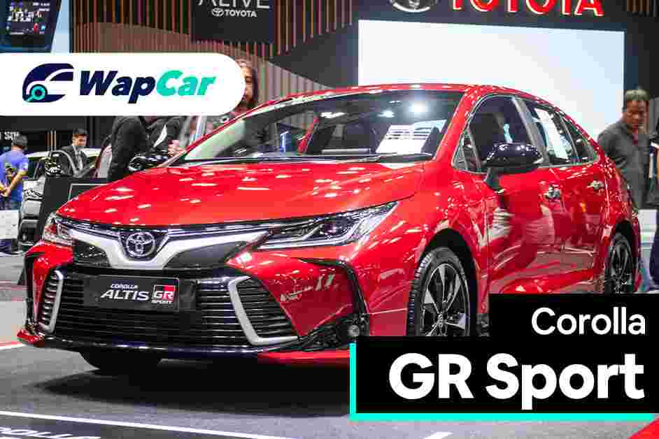 2020 Toyota Corolla Altis GR Sport: all show but no go?