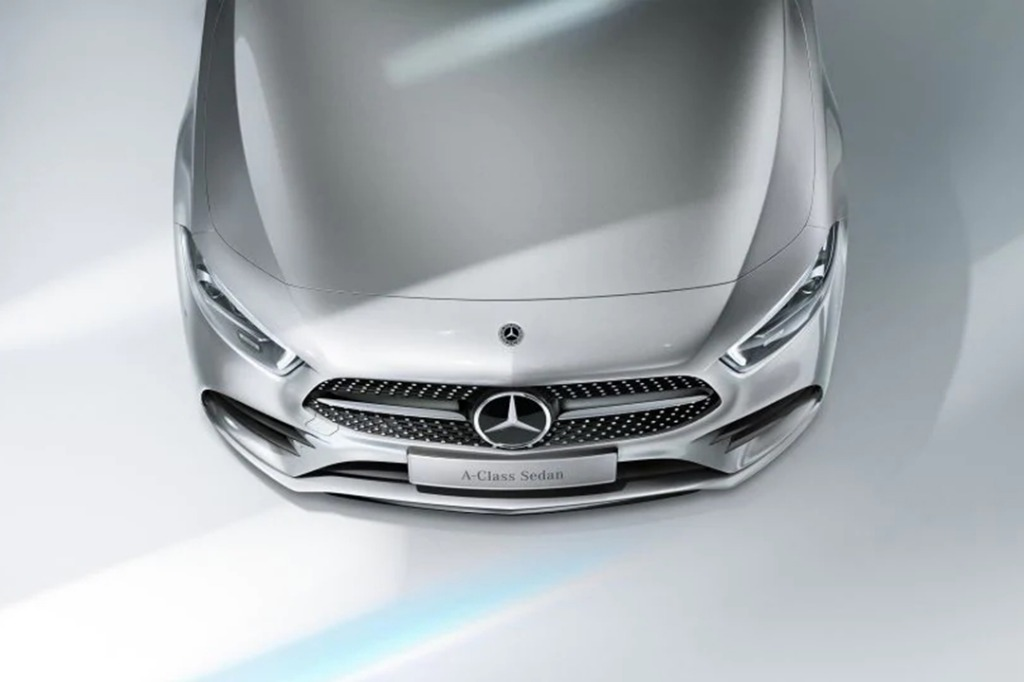 2019 Mercedes-Benz A200 Sedan Progressive Line Exterior 007
